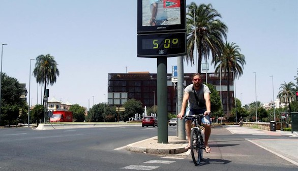 España se achicharra por una ola de calor histórica
