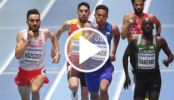Mundiales de atletismo. Saúl Ordoñez se hace con el bronce en los 800 metros