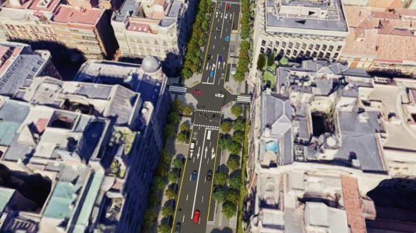 Arrancan las obras de la calle Ortega y Gasset de Madrid: así será tras su remodelación