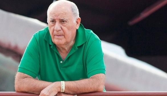 Amancio Ortega inicia su jubilación: sale de 53 filiales de Inditex