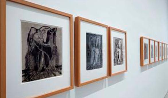 El hijo de Picasso dona al Reina Sofía 39 grabados de Óscar Domínguez