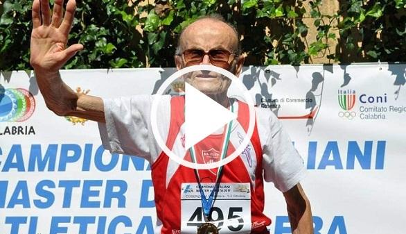 Atletismo. Ottaviani, de 101 años, reina en los Europeos de veteranos