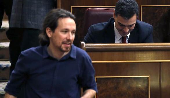 Pablo Iglesias, enrabietado por el pacto entre PP, PSOE y C's
