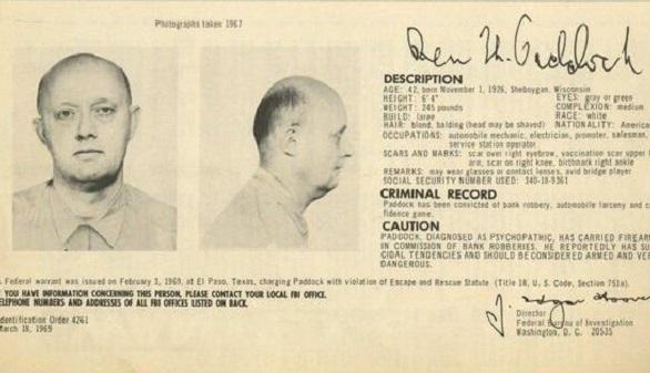 El padre del autor de la masacre de Las Vegas estuvo 8 años entre los más buscados del FBI