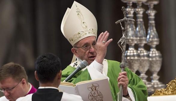 El Papa denuncia: