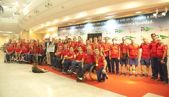 El Corte Inglés recibe al Equipo Paralímpico Español