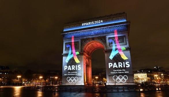 París presenta su logo para luchar por los Juegos de 2024