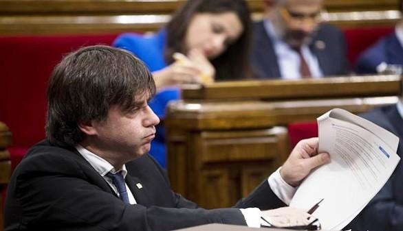 El Parlamento catalán vota las resoluciones independentistas