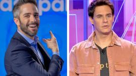 Roberto Leal presenta 'Pasapalabra' en Antena 3.  |  Christian Gálvez en 'Alta tensión'.