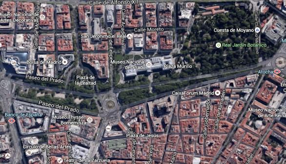 El Paseo del Prado será parcialmente peatonal los domingos por la mañana