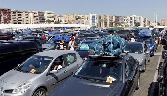La Operación Paso del Estrecho, cerca del millón de pasajeros