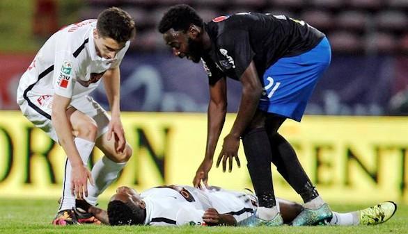 Fallece Ekeng, exjugador del Córdoba de 26 años, durante un partido