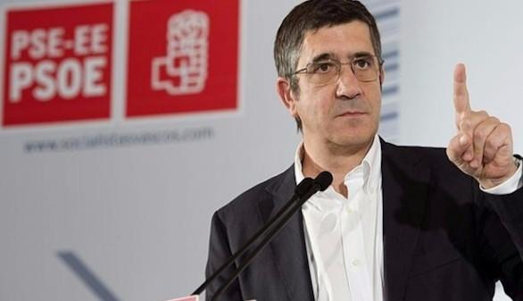 Patxi López: 'El PSOE no se va a doblegar a las presiones'