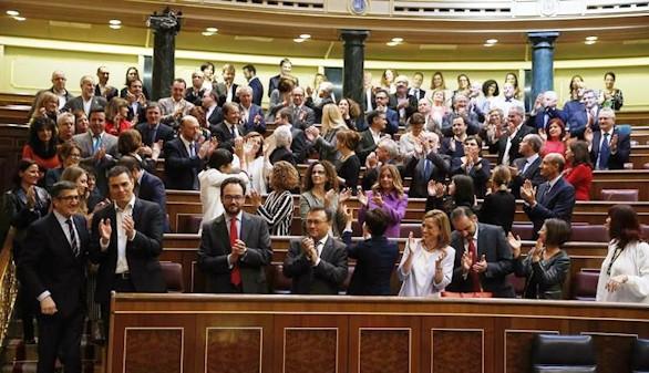 El adiós de la legislatura más corta de la democracia española