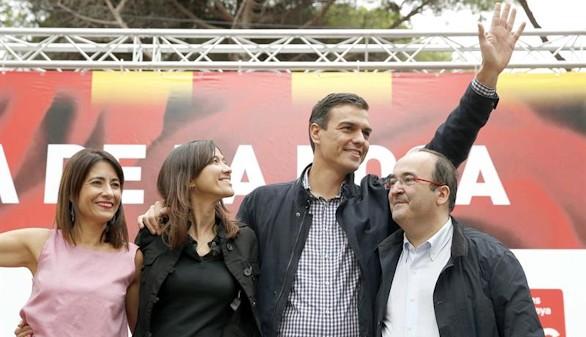 Iceta insiste en el gobierno con los independentistas