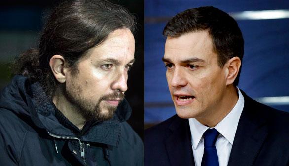 Podemos presiona al PSOE con el referéndum y la Mesa del Congreso