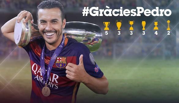 El Barcelona oficializa el fichaje de Pedro por el Chelsea