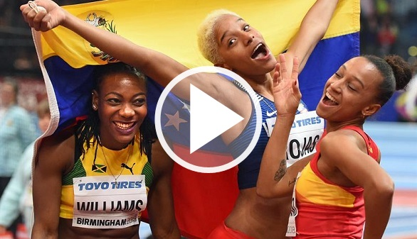 Mundiales de atletismo. Ana Peleteiro logra un bronce histórico en triple salto