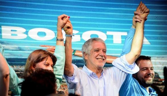 La izquierda colombiana pierde su gran feudo, Bogotá