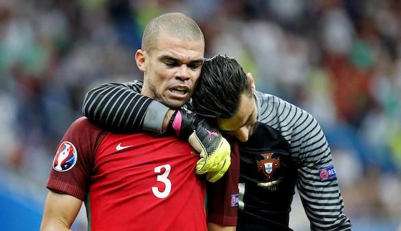 Pepe, nombrado como mejor jugador de la final