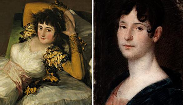 Crónica Cultural A Quién Retrató Goya En La Maja Vestida Y La Maja