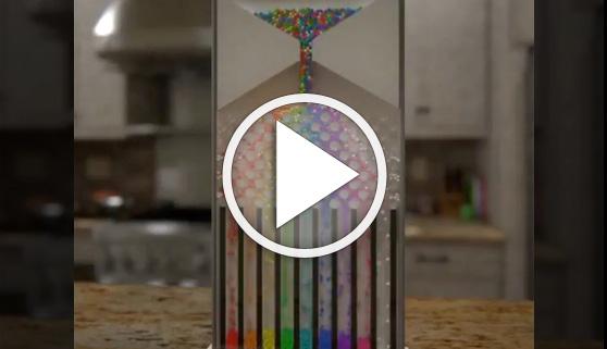 Vídeos virales. Pero... ¿cómo se separan por colores?