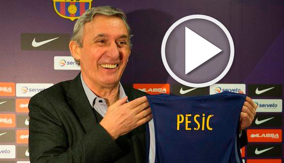 El Barcelona recurre a la experiencia de Pesic para salir del hoyo en baloncesto