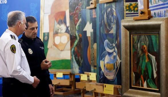 La Policía intercepta la venta de cinco Picassos falsos en España