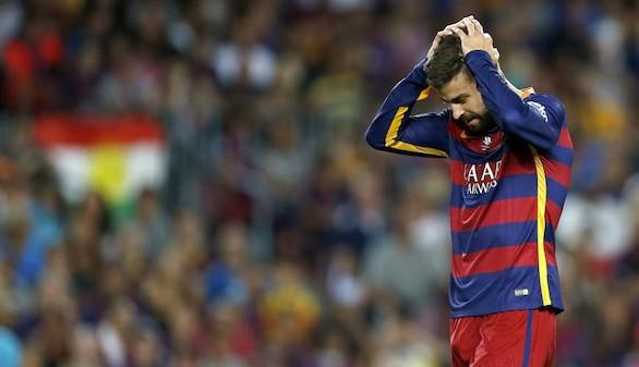 Piqué, sancionado cuatro partidos por su expulsión en la Supercopa