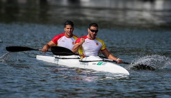Saúl Craviotto y Cristian Toro, oro en K2 200 metros