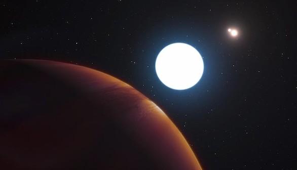 El telescopio VLT descubre un sorprendente planeta con tres soles