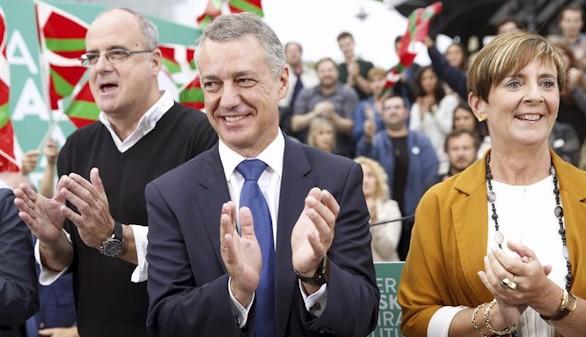 El PNV gobernaría en el País Vasco y el PSOE se hunde