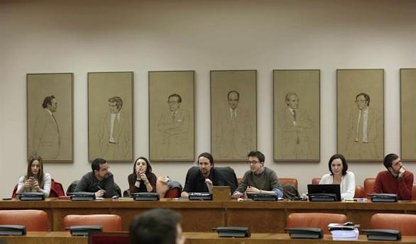 Podemos presidirá las comisiones de Fomento, Pacto de Toledo y Empleo