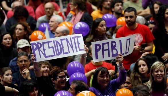 Podemos gana en el País Vasco, según los encuestas a pie de urna