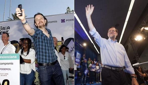 El PP se arroga ser el voto útil del centro derecha y Podemos, el de la izquierda