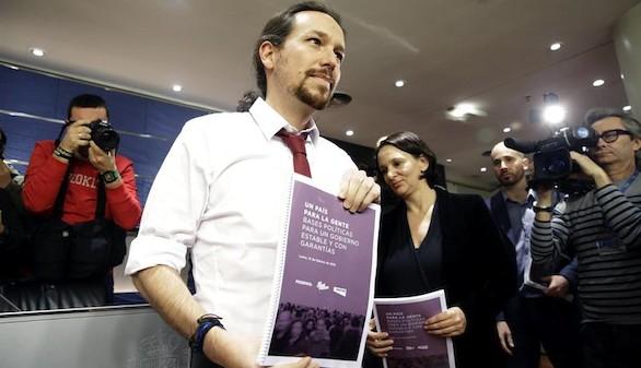 Órdago de Podemos al PSOE: referéndum en Cataluña, subida de impuestos y disparar el gasto público