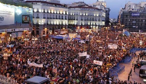 El Gobierno acusa a Podemos de organizar una marcha electoralista durante la jornada de reflexión