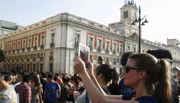 La Puerta del Sol, epicentro de una