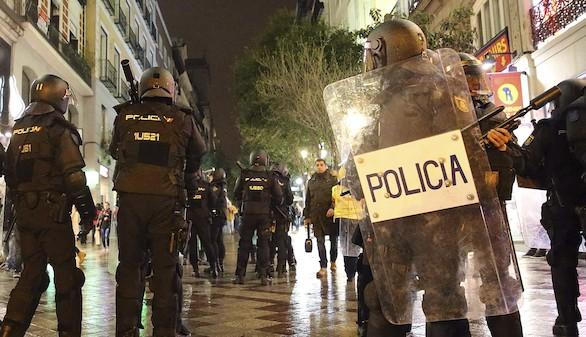 Manifestaciones: violencia y caos