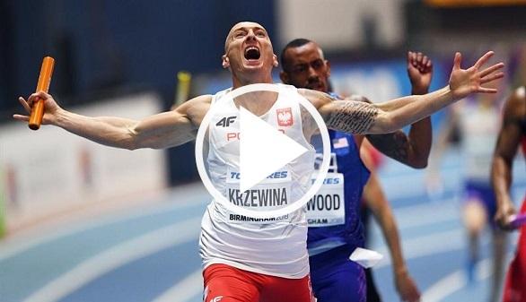Mundiales de atletismo. Polonia destrona a Estados Unidos en el 4x400