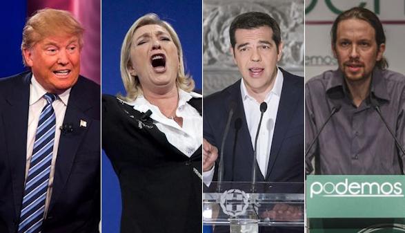 La peste del populismo se extiende por el mundo