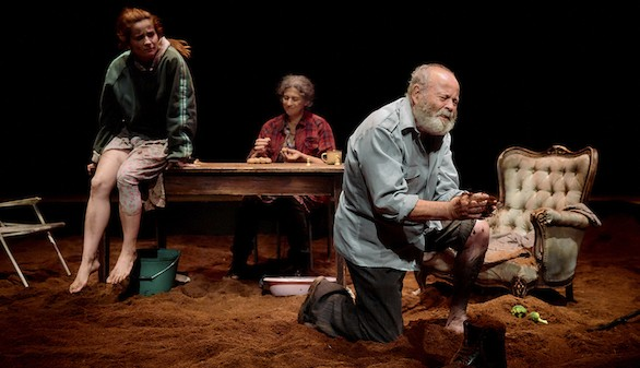 El Teatro en El Imparcial. Por toda la hermosura: Un Jueves Santo laico