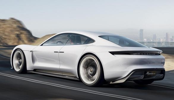 Presentado en el Salón de Frankfurt el Porsche Mission E