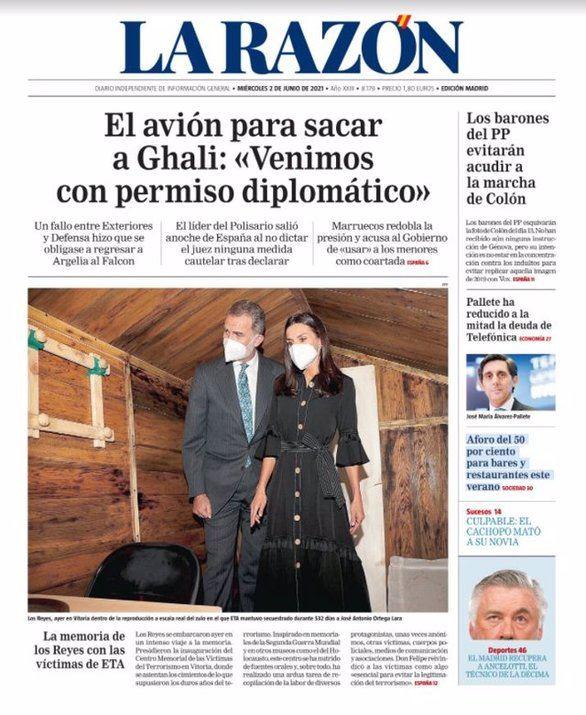 Las portadas de los periódicos de este miércoles, 2 de junio