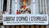 Por una España unida, manifestación para exigir elecciones a Sánchez
