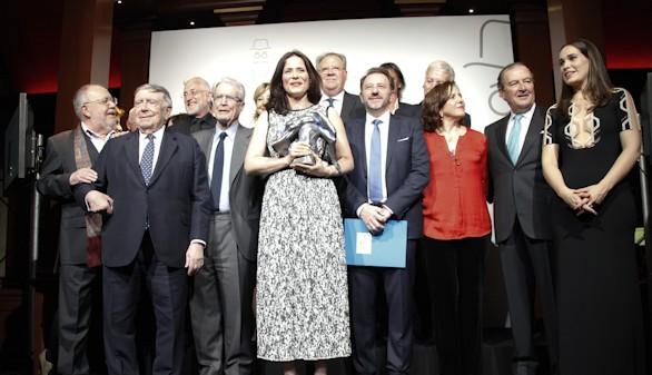 La actriz Aitana Sánchez-Gijón, X Premio Valle-Inclán de teatro