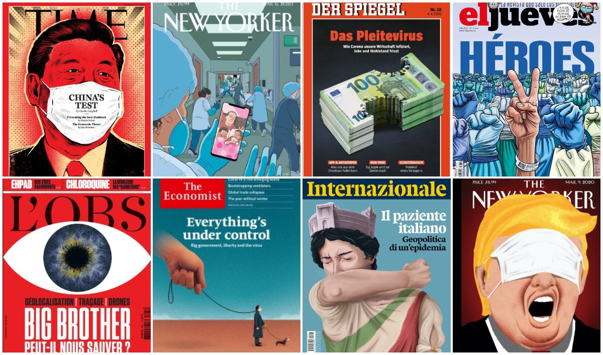 The New Yorker, TIME o The Economist: las portadas sobre coronavirus que pasarán a la historia