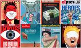 The New Yorker, TIME o The Economist: las portadas sobre el coronavirus que pasarán a la historia
