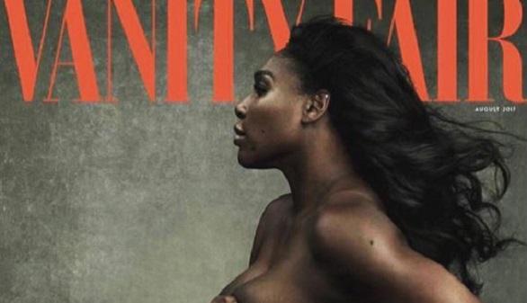 La tenista Serena Williams luce embarazo ante el mundo en Vanity Fair