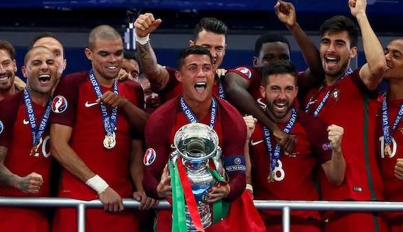 Portugal, campeón de la Eurocopa frente a la anfitriona